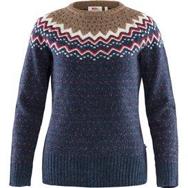 Fjällräven Övik Knit Sweater Damen Pullover Wollpullover navy hier im Fjällräven-Shop günstig online bestellen