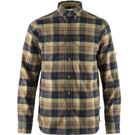 Fjällräven Singi Heavy Flannel Shirt Herren Freizeithemd Outdoorhemd dark sand hier im Fjällräven-Shop günstig online bestellen
