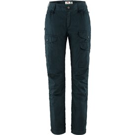 Fjällräven Vidda Pro Ventilated Trousers Regular Damen Wanderhose dark navy