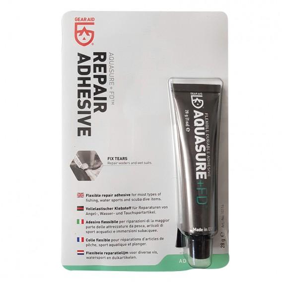 GearAid AquaSure Kleber 28g Tube mit Pinsel Reparaturkleber für Neopren Gummi hier im GEARAID-Shop günstig online bestellen