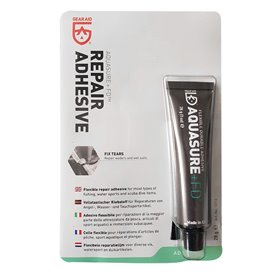 GearAid AquaSure Kleber 28g Tube mit Pinsel Reparaturkleber für Neopren Gummi