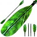 ExtaSea Leaf Vario Fiberglas Doppelpaddel Kajak Paddel 4-teilig inkl. Tasche