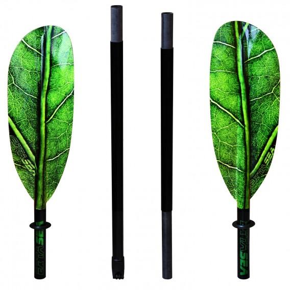 ExtaSea Leaf Vario Fiberglas Doppelpaddel Kajak Paddel 4-teilig inkl. Tasche hier im ExtaSea-Shop günstig online bestellen