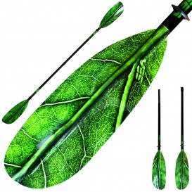 ExtaSea Leaf Vario Fiberglas Doppelpaddel Kajak Paddel 2-teilig inkl. Tasche