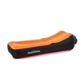 Naturehike Air Sofa aufblasbare Luftmatratze Campingliege orange