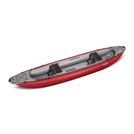 Gumotex Palava 2er Kanadier Schlauchboot Trekking Kanu rot