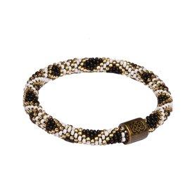 Sherpa Mayalu Basket Roll On Bracelet Armband black