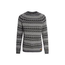 Sherpa Paro Crew Sweater Damen Pullover Strickpullover kharani grey