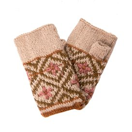 Sherpa Nitya Handwarmer Handschuhe goa sand