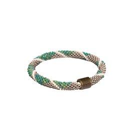 Sherpa Mayalu Diamond Roll On Bracelet Armband rathna green