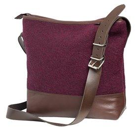 Mufflon TLR Handtasche Umhängetasche berry