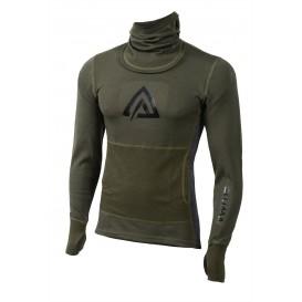 Aclima Warmwool Hood Sweater MAN Herren Longsleeve Olive Marengo hier im Aclima-Shop günstig online bestellen