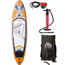 Aqua Marina Magma 10.1 2019er AUSTTELLUNGSMODELL aufblasbares Stand Up Paddle Board