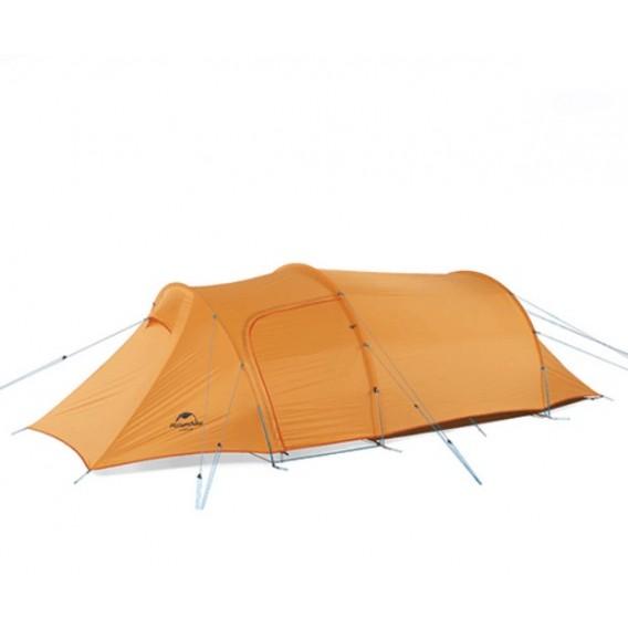 Naturehike Opalus 3 PU AUSSTELLUNGSZELT Tunnelzelt 3 Personen Zelt orange hier im Naturehike-Shop günstig online bestellen
