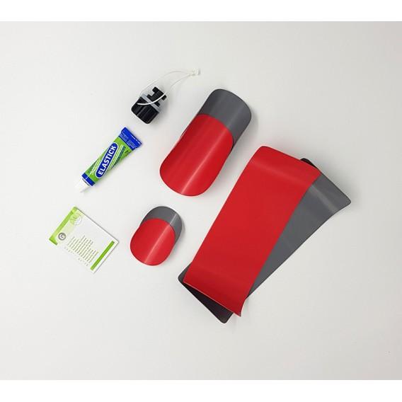 Gumotex Reparaturset für Nitrilon Kajaks rot