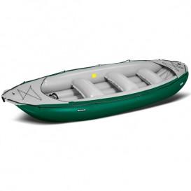 Gumotex Ontario 450 S TESTBOOT 6 Personen Schlauchboot Wildwasser Boot grün