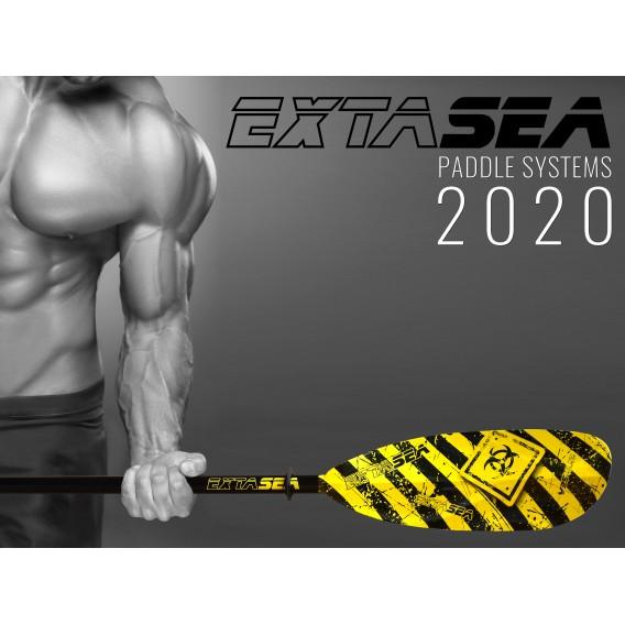 ExtaSea Danger Vario Fiberglas Doppelpaddel Kajak Paddel 2-teilig inkl. Tasche hier im ExtaSea-Shop günstig online bestellen
