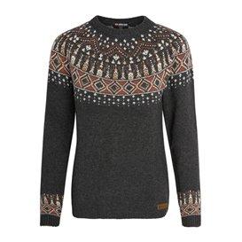 Sherpa Amdo Crew Sweater Damen Pullover Strickpullover kharani grey
