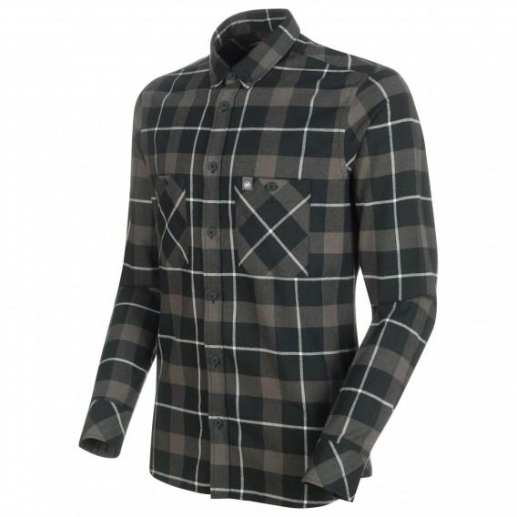 Mammut Alvra Longsleeve Shirt Herren Sweatshirt Langarmshirt black-titanium hier im Mammut-Shop günstig online bestellen