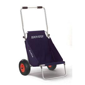 Eckla Beach-Rolly Classic pannensicherer Transportwagen und Campingstuhl blau uni