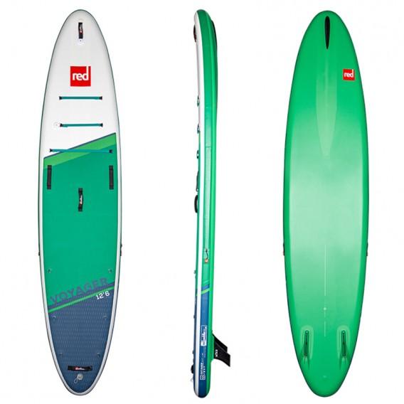 Red Paddle Voyage 12,6 MSL SUP aufblasbares Stand up Paddle Board hier im Red Paddle-Shop günstig online bestellen