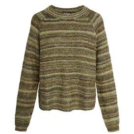 Sherpa Kohima Sweater Damen Strickpullover jeera olive