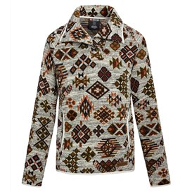 Sherpa Lumbini Pullover Damen Pullover mit Knopfleiste peetho