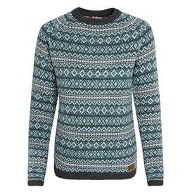 Sherpa Paro Crew Sweater Damen Pullover Strickpullover rathna green