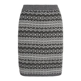 Sherpa Paro Skirt Damen Rock kharani grey
