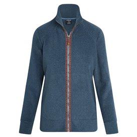Sherpa Rolpa Jacket Damen Fleecejacke neelo blue
