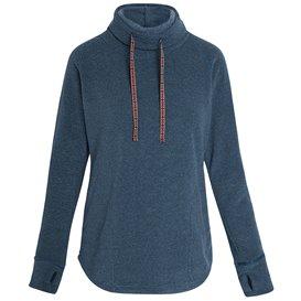 Sherpa Rolpa Pullover Damen Rollkragen Pullover neelo blue