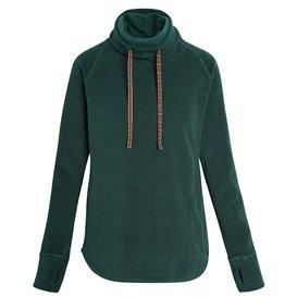 Sherpa Rolpa Pullover Damen Rollkragen Pullover rathna green