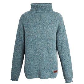 Sherpa Yuden Pullover Sweater Damen Pullover Strickpullover mechi green