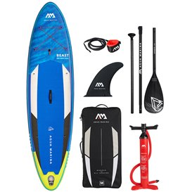 Aqua Marina Beast 10.6 aufblasbares Stand Up Paddle Board SUP komplett Set