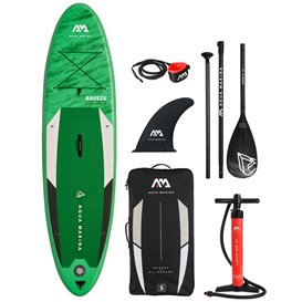 Aqua Marina Breeze aufblasbares Stand Up Paddle Board SUP komplett Set