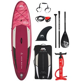 Aqua Marina Coral aufblasbares Stand Up Paddle Board SUP komplett Set