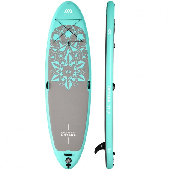 Aqua Marina Dhyana 11.0 Yoga SUP aufblasbares Stand Up Paddle Board Set hier im Aqua Marina-Shop günstig online bestellen