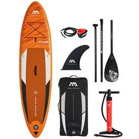 Aqua Marina Fusion 10.1 aufblasbares Stand Up Paddle Board SUP komplett Set