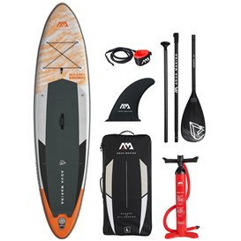 Aqua Marina Magma 11.2 aufblasbares Stand Up Paddle Board SUP komplett Set