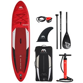 Aqua Marina Monster 12.0 komplett Set aufblasbares Stand Up Paddle Board SUP