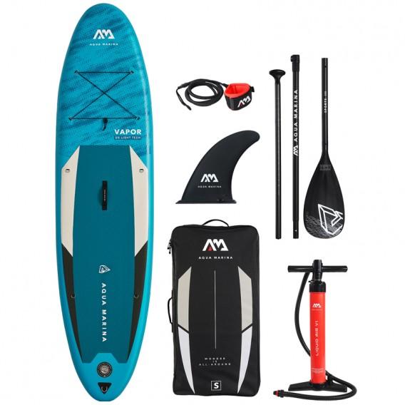 Aqua Marina Vapor 10.4 aufblasbares Stand Up Paddle Board SUP komplett Set hier im Aqua Marina-Shop günstig online bestellen