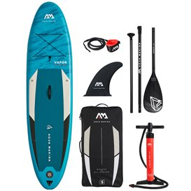 Aqua Marina Vapor 10.4 aufblasbares Stand Up Paddle Board SUP komplett Set