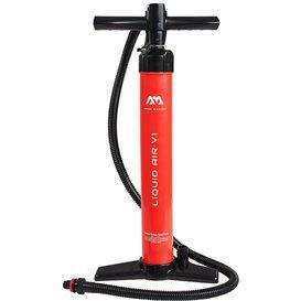 Aqua Marina Liquid Air V1 Hochdruck Hand Pumpe Luftpumpe mit Manometer