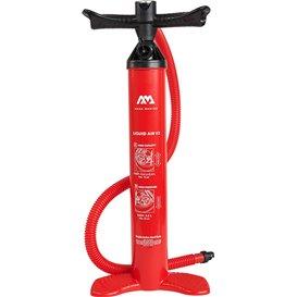 Aqua Marina Liquid Air V2 Hochdruck Hand Pumpe Luftpumpe mit Manometer