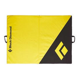 Black Diamond Circuit Crash Pad Bouldermatte Sturzpolster black-lemon grass