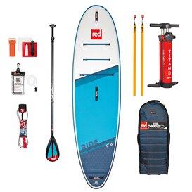 Red Paddle Ride 9'8 MSL SUP komplett Set aufblasbares Stand up Paddle Board hier im Red Paddle-Shop günstig online bestellen