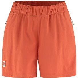Fjällräven High Coast Relaxed Shorts Damen kurze Wanderhose rowan red