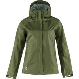 Fjällräven High Coast Hydratic Jacket Damen Regenjacke Windjacke green