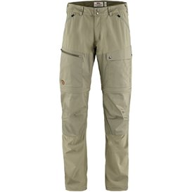 Fjällräven Abisko Midsummer Zip-Off Trouser Herren Wanderhose savanna-light olive