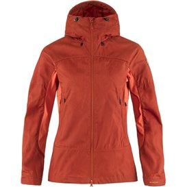 Fjällräven Abisko Lite Trekking Jacket Damen Übergangsjacke cabin red-rowan red